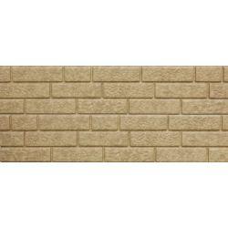 Сайдинг Ю-Пласт Стоун-хаус 3,045*0,23 кирпич песочный (0,7м2/полоса)