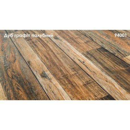 Ламинат Grun Holz, Графит Палубный 195*1215, 8,3мм, 33клас (0,24)