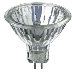 Лампа галоген. DELUX 220В 75W+С GU5.3 MR16