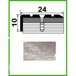 Алюминиевый порожек лестничный - УЛ120   0,9м  Акация серая