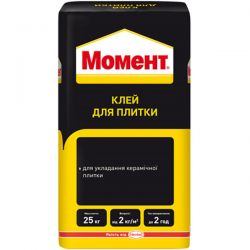"Клей для плитки ""Момент"", 25 кг"