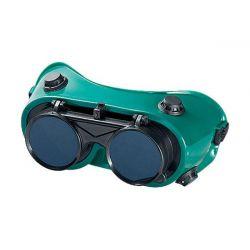 Очки газосварщика с откидным стеклом MTX