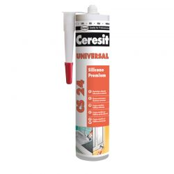 Герметик Ceresit CS-24 универсальный белый 280 мл