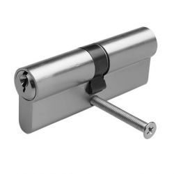 Цилиндр Lex 80мм (50*30) ЕА-80-SN (никель)