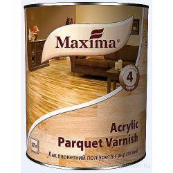 Лак Maxima паркетный  глянец полиуритан-акрил  0,75л.