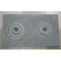 Плита чугунная двухкомфорочная  (Ровно) 71*41