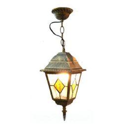 Светильник сад-парков  652S античн зол/матт стекло,220В/60Вт