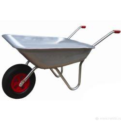 Тачка садово-огородная 65л Одноколесная грузоподемность 110кг