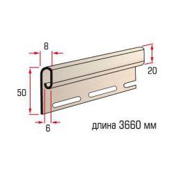 Планка финишная розовая 3,66 м