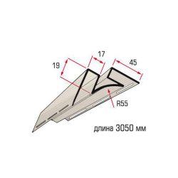 Планка угол внутренний беж 3,05 м
