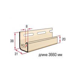Планка J-trim песочный 3,66 м