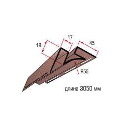 Угол внутренний красно коричневый 3,05 м