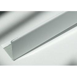Уголок пристенный 19х24мм 3м белый ЕКОНОМ Alubest (уп