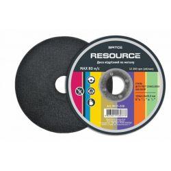 Диск отрезной по металлу, 125х1,6х22, Spitce Resource