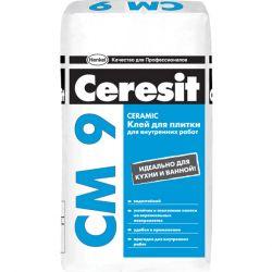 """Клей для плитки """"Церезит"""" СМ-9, 25 кг"""