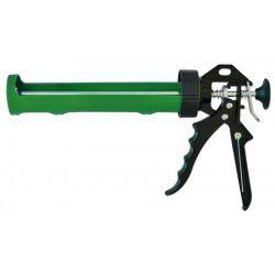 Пистолет для герметика полуоткрытый пластмассовый металлическая ручка