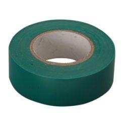 Изолента ПВХ зеленая 19мм х 10м