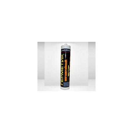 Герметик Lacrysil  Огнеупорный  550гр, чёрный