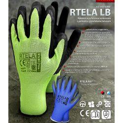 Перчатки REIS RTELA LB (Зелено-черные)