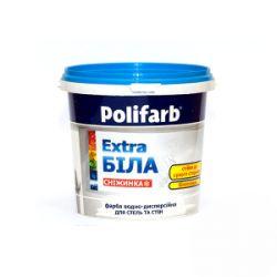 Краска  Polifarb  Снижинка 1,4 л