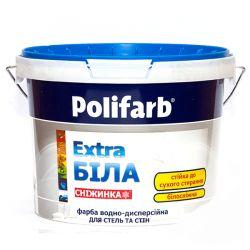 Краска  Polifarb  Снижинка 4,2 л