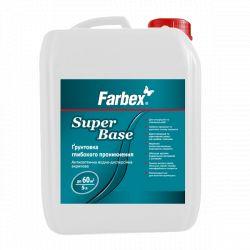"""Грунтовка глубокого проникновения антисептическая """"SuperBase""""   Farbex 10 л"""