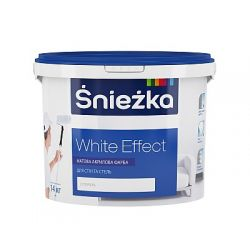 """Краска """"White Efekt"""" супер белая  10л (14кг)"""