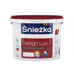 """Краска """"Снежка"""" Design LUX 3л (4кг)"""
