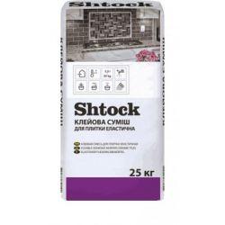 Shtock Морозостойкая клеевая смесь для плитки эластичная 25 кг