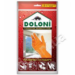 Перчатки универсальные господарчи Doloni латексни размер ХL