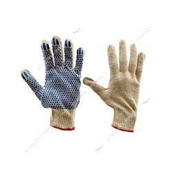 Перчатки рабочие трикотажные ладонь нитрил с дополнит.точкой, 13 класс