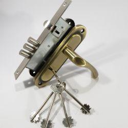 Ручка дверная FZB BK-71001 50 мм AB  15-98