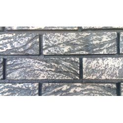 """Гипсовая плитка """"ПАРИЖ"""" со швом №2  (21,5*7 см, толщина 20 мм,48 шт,  0,73 м2)"""
