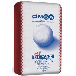 Белый цемент Cimsa CEM I 52