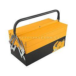 Ящик для инструментов профи метал 404-200-195  TOLSEN
