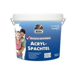 АКРИЛ-ПУТС ДЮФА финиш, готовая шпатлевка, 8 кг