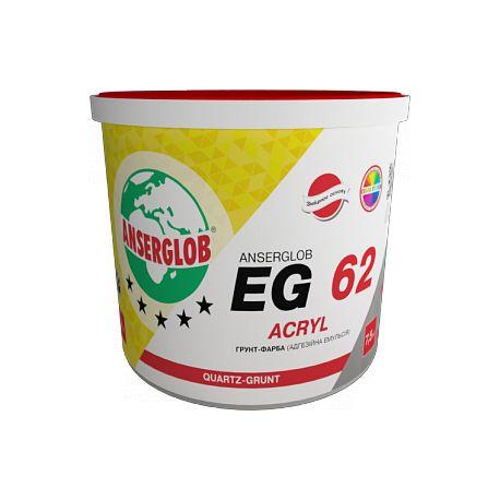 Ансерглоб EG-62 грунт краска акриловая 10л