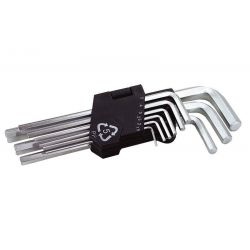 Ключи шестигранные набор 9 шт CV длинные MasterTool