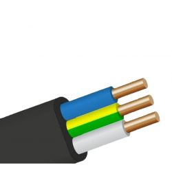 Силовой кабель ВВГ-П 3х2,5 мм ГОСТ
