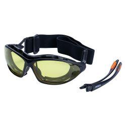 Захисні окуляри Sigma с обтюратором и сменными душками  Zoom anti-scratch