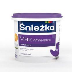 Краска в/э MAX White LATEX 1л, 1,4кг