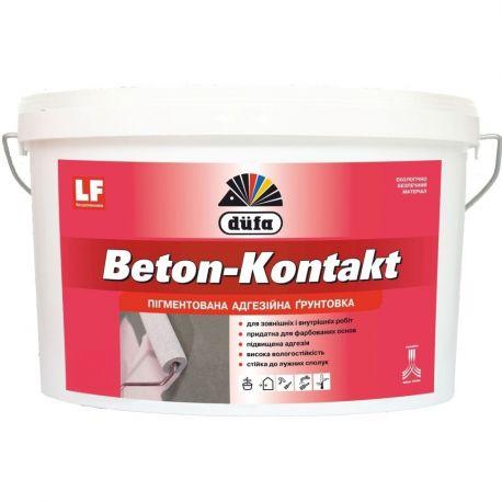 Грунтовка бетоконтакт Дюфа 1,4кг