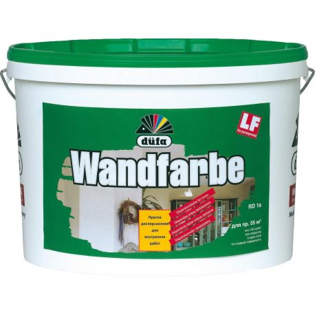 "Краска ""Дюфа"" Wandfarbe D1A 10л, 15"