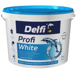 "Краска ""Delfi"" латексная ""Profi White"" 7кг"