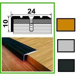 Алюминиевый порожек лестничный - УЛ120 0,9м бронза