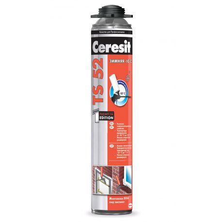 Пена монтажная Ceresit TS52 PRO 750 мл