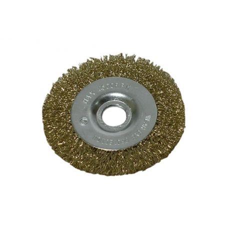 Щітка - крацовка дискова латунна 115мм*16мм