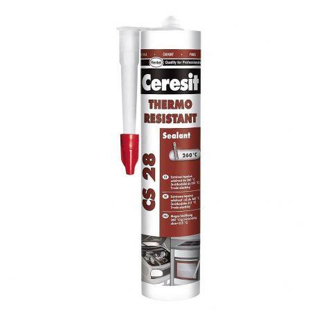 Герметик  Ceresit CS28 300мл термостойкий