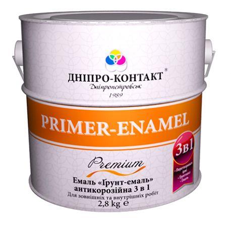 Грунт-эмаль 3в1  2,8кг ДК