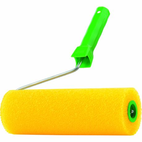 """Валик структурний """"гладкий"""" з ручкою d 8 мм, 80/250 мм"""